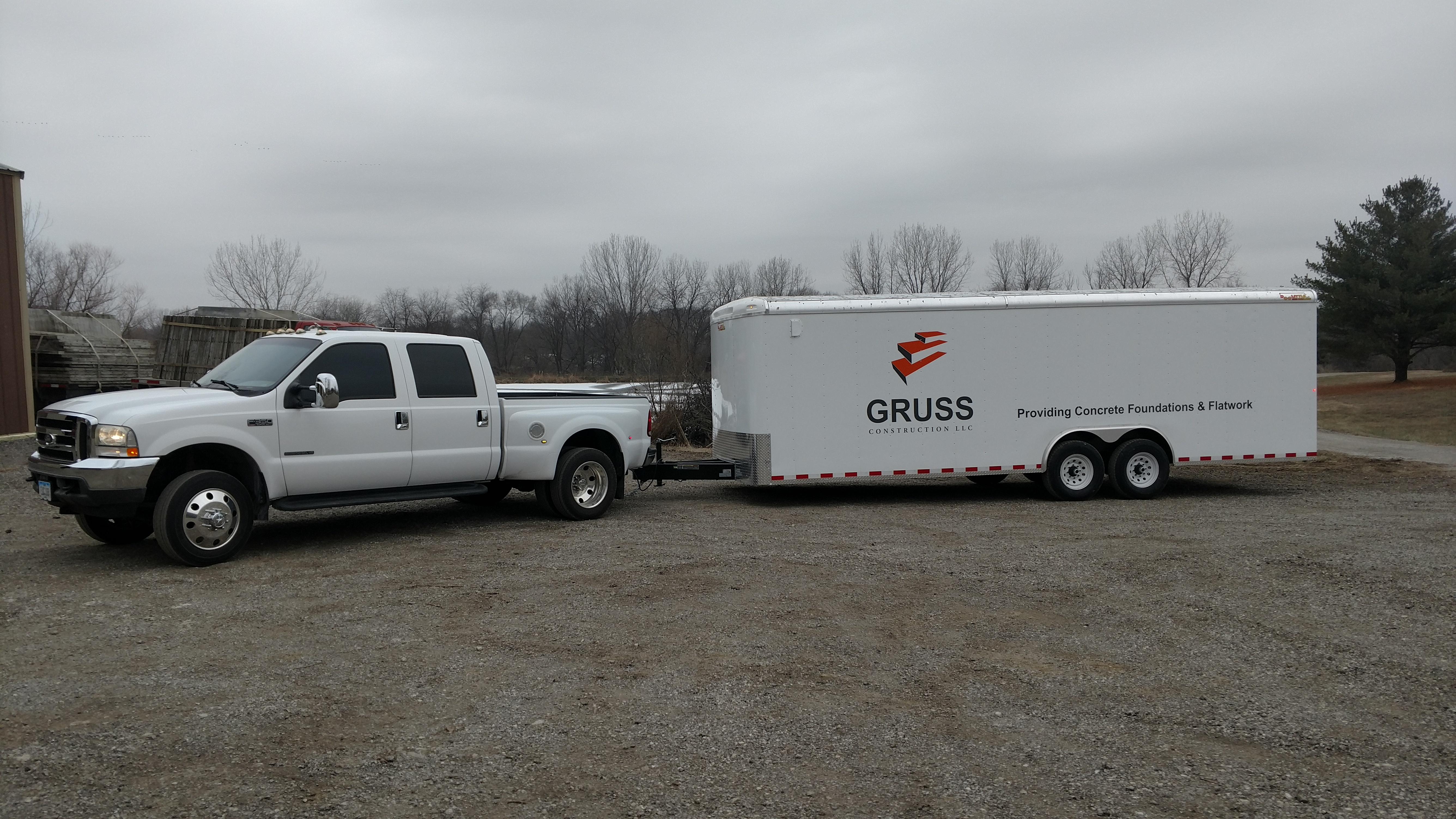 Gruss Construction Truck and Trailer